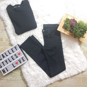 J Brand Jeans Straight Leg Shadow Dark Wash A9